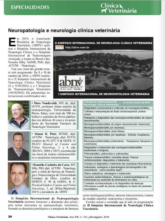 Revista Clínia Veterinária
